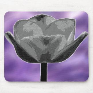 Cojín de ratón gráfico del tulipán alfombrillas de ratones