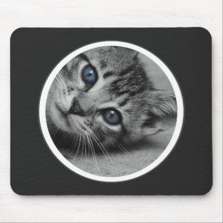 Cojín de ratón gris oscuro personalizado del marco alfombrillas de ratón