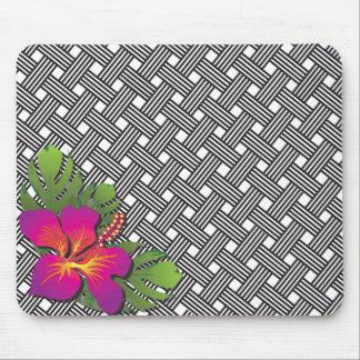 Cojín de ratón hawaiano de la impresión del mousepad