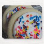 Cojín de ratón helado de la galleta de azúcar alfombrilla de ratón