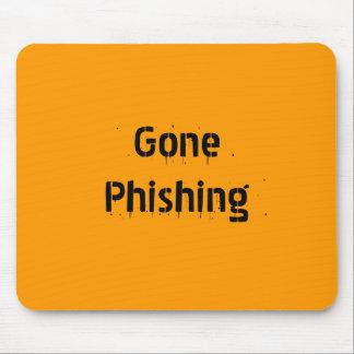 Cojín de ratón ido de Phishing Tapete De Raton