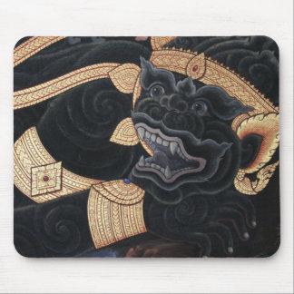 Cojín de ratón imperial del perro de Foo del león Alfombrilla De Ratón