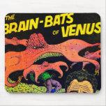 Cojín de ratón impresionante del cómic del vintage tapetes de ratones