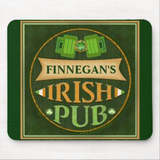 Cojín de ratón irlandés del Pub del día de St Patr Alfombrillas De Ratones
