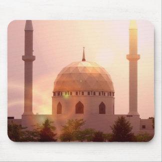 Cojín de ratón islámico de la mezquita tapete de ratones