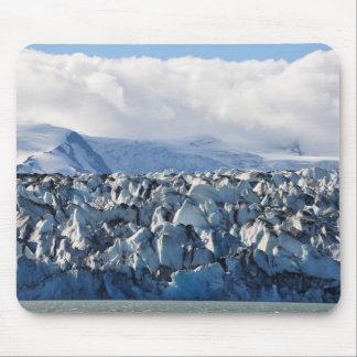 Cojín de ratón islandés del glaciar alfombrillas de ratón
