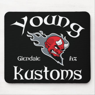 Cojín de ratón joven de Kustoms Tapetes De Raton