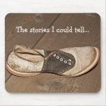 Cojín de ratón Largo-Abandonado del zapato de sill Alfombrilla De Ratón