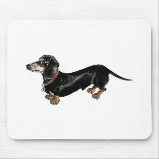 cojín de ratón largo del perro del dachshund tapete de raton
