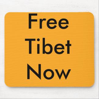 Cojín de ratón libre de Tíbet ahora Alfombrillas De Ratón
