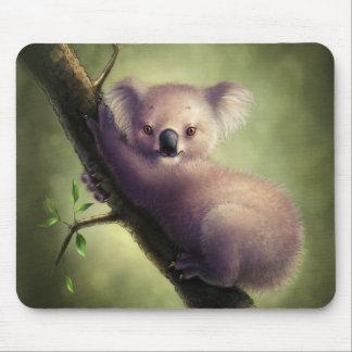 Cojín de ratón lindo del oso de koala mouse pad