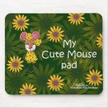 Cojín de ratón lindo tapetes de ratón