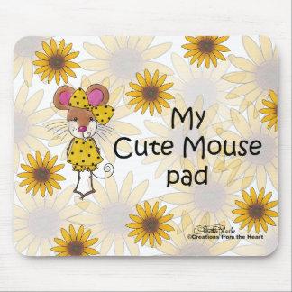 Cojín de ratón lindo tapetes de ratones