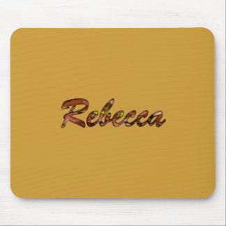 Cojín de ratón marrón de Rebecca Tapete De Ratón
