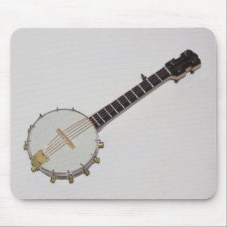 Cojín de ratón miniatura impresionante del banjo alfombrillas de raton