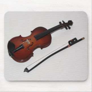 Cojín de ratón miniatura impresionante del violín tapetes de raton