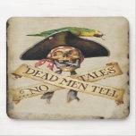 Cojín de ratón muerto del pirata alfombrillas de ratones
