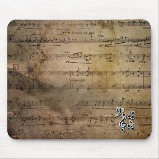 Cojín de ratón musical tapetes de raton