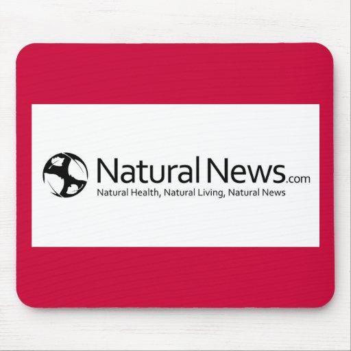 Cojín de ratón natural de las noticias tapete de ratón
