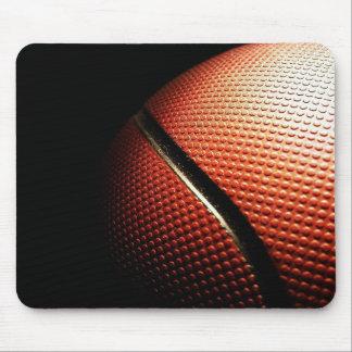 Cojín de ratón negro de NBA del baloncesto Alfombrillas De Ratón