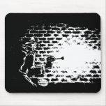 Cojín de ratón Noir de Raygun, ilustraciones de Mi Mousepads