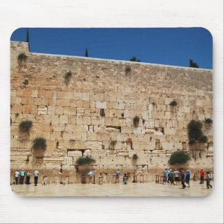 Cojín de ratón occidental de la pared (Jerusalén,  Mousepads