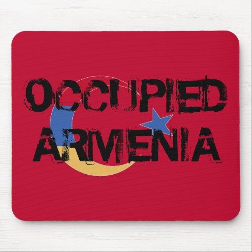 Cojín de ratón ocupado de Armenia Alfombrilla De Raton