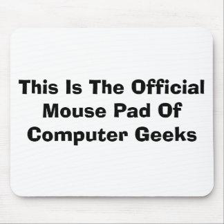Cojín de ratón oficial tapetes de ratón