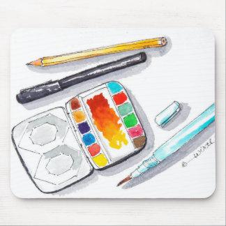 Cojín de ratón para el artista en usted tapete de ratón