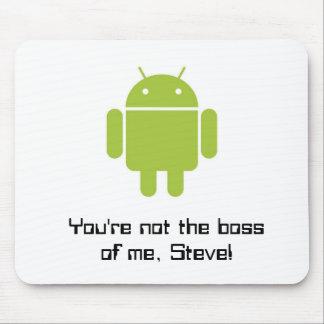 ¡Cojín de ratón para las fans de Android™! Alfombrillas De Ratones
