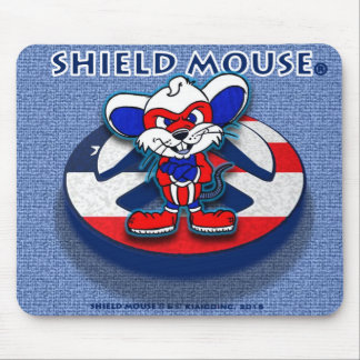 Cojín de ratón patriótico de la paz del RATÓN del Tapete De Ratón
