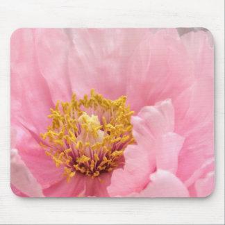 Cojín de ratón Peony rosado del árbol Alfombrillas De Ratones
