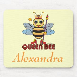"Cojín de ratón personalizado de la ""abeja reina"" tapete de ratón"