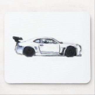 Cojín de ratón pintado a mano del coche de Chevy C Alfombrilla De Ratón