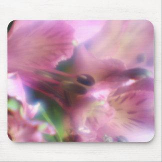 Cojín de ratón púrpura del Alstroemeria Alfombrillas De Raton