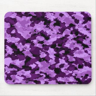 Cojín de ratón púrpura del camuflaje mousepads