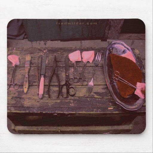 Cojín de ratón quirúrgico de las herramientas alfombrillas de raton