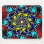 Cojín de ratón real del fractal alfombrillas de raton