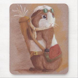 Cojín de ratón rebelde del conejillo de Indias Alfombrillas De Ratones