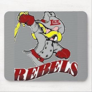 Cojín de ratón rebelde del fútbol de Midland Lee Alfombrilla De Raton
