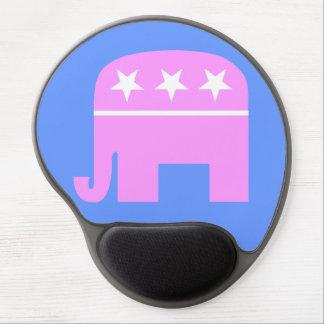 Cojín de ratón republicano de la mujer alfombrillas de ratón con gel