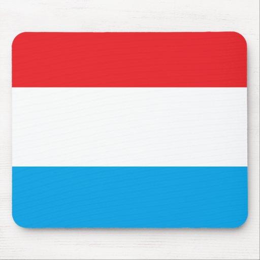 Cojín de ratón rojo, blanco y azul tapetes de raton