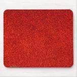 Cojín de ratón rojo de la textura tapete de ratón
