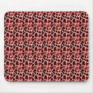 Cojín de ratón rojo fresco del modelo del estampad mousepad