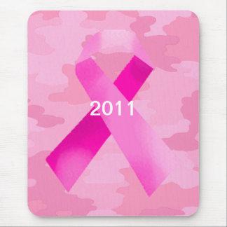 Cojín de ratón rosa claro de la fecha de la cinta mouse pads