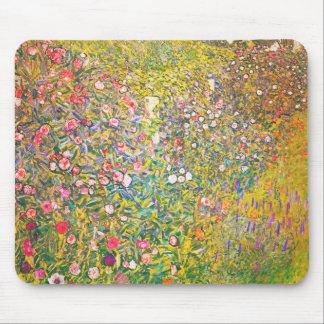 Cojín de ratón rosado de las flores de Gustavo Kli Alfombrillas De Ratones