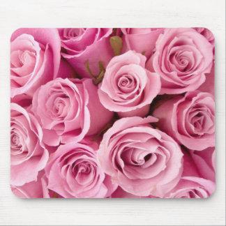 cojín de ratón rosado de los rosas alfombrillas de ratones