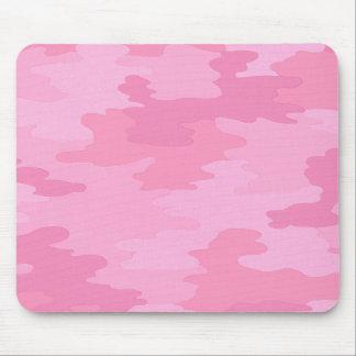 Cojín de ratón rosado del camuflaje alfombrilla de ratón