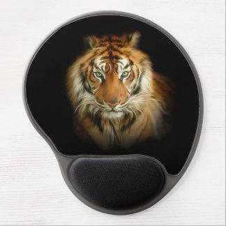 Cojín de ratón salvaje del gel del tigre alfombrilla de ratón con gel