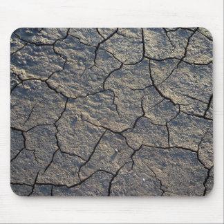 Cojín de ratón seco agrietado del fango de la tier mousepad